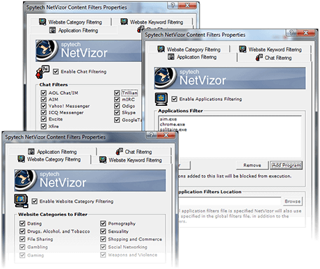 NetVizor Blocks and Prevents Unwanted Behavior